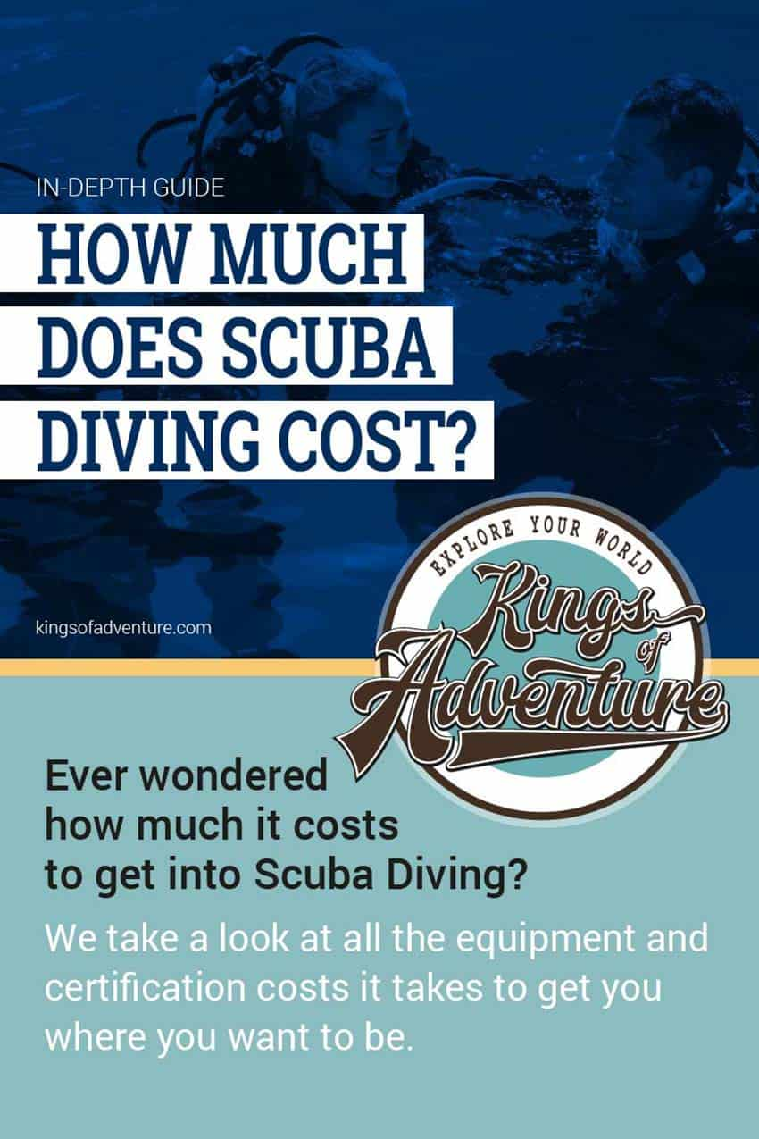 Cost of Scuba Diving Certification