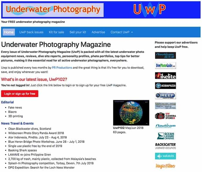 Underwater Photography Magazine