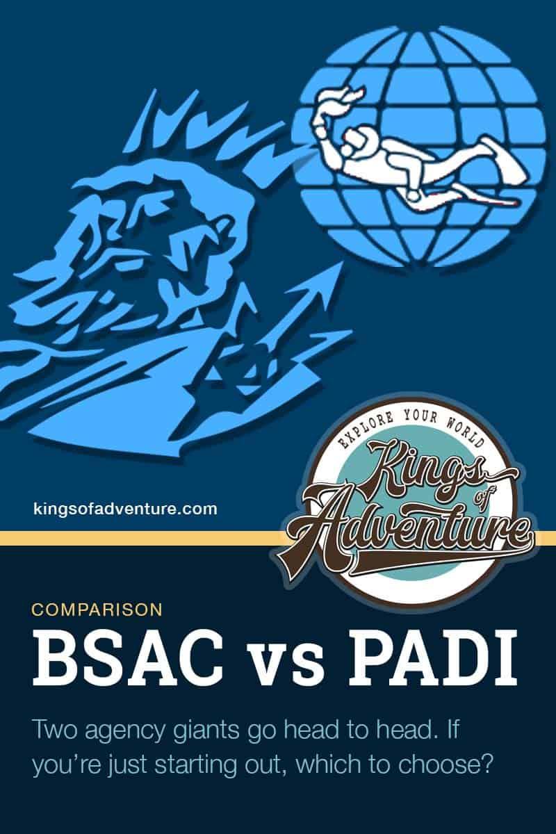 BSAC v PADI