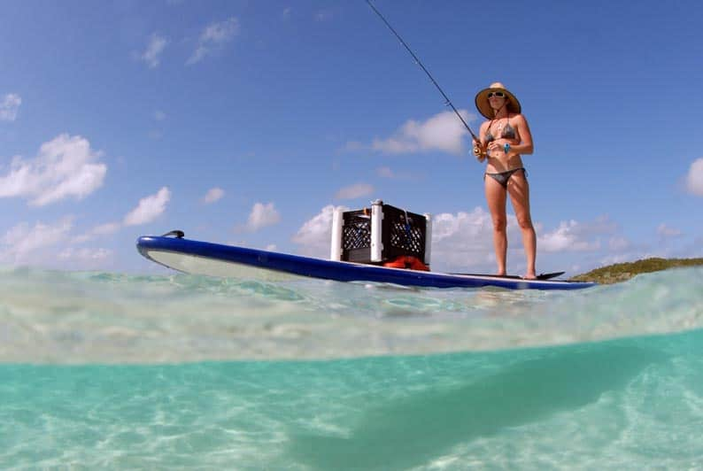 Fishing from your SUP