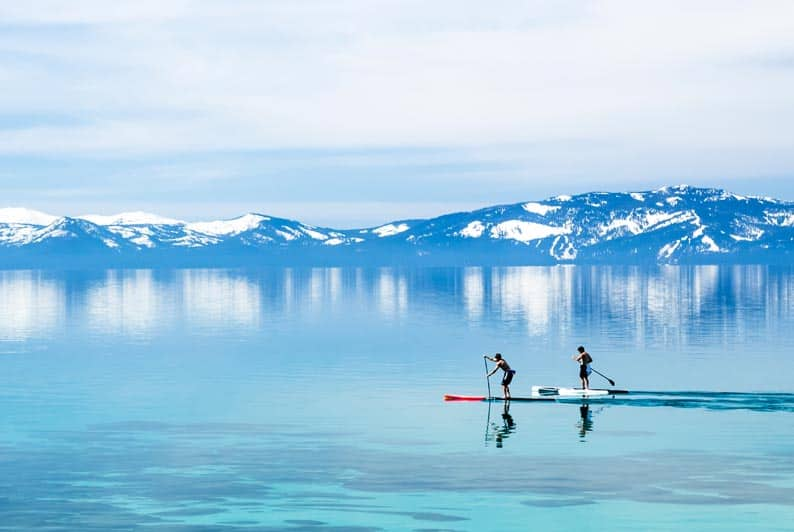 Paddle Boarding and Travel