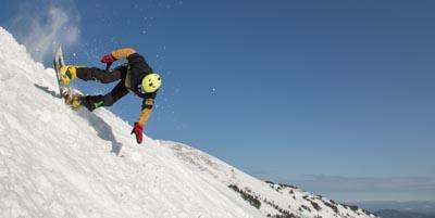 Snowboard wrist guards
