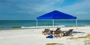 Beach canopies