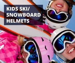 kids ski & snowboard helmets