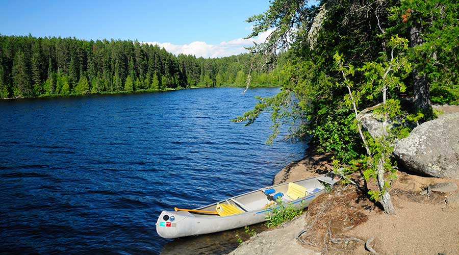 Canoe Camping at Boundary Waters