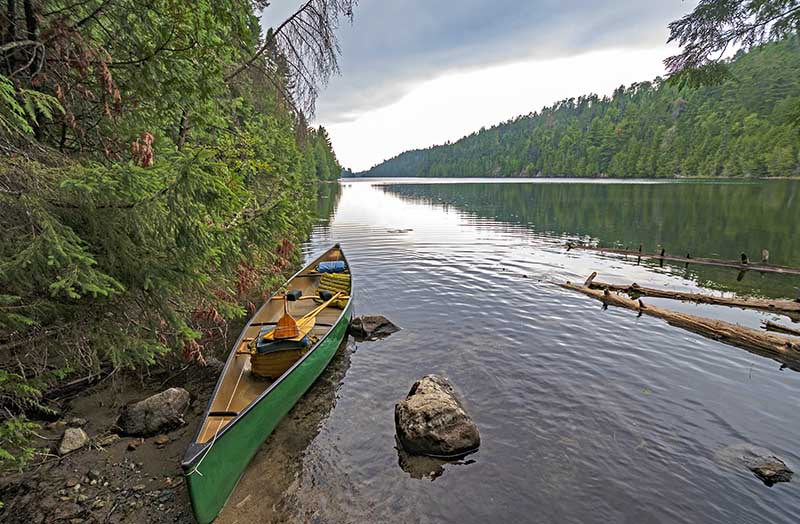 Canoe Camping at Quetico Provincial park