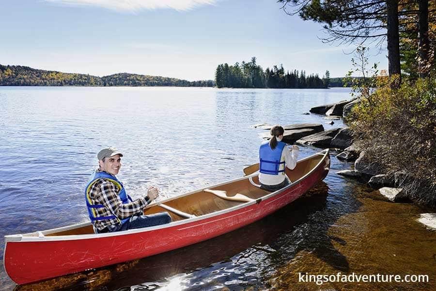 recreational canoes