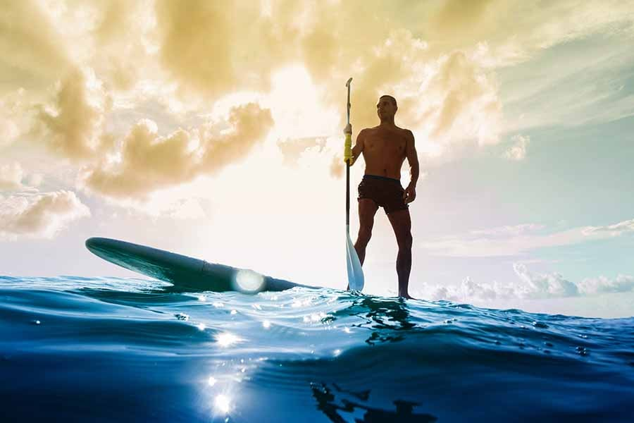 Health Benefits of Paddle Boarding