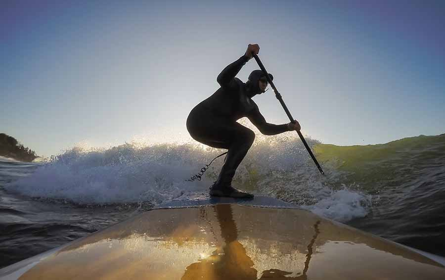 SUP Type Surfing